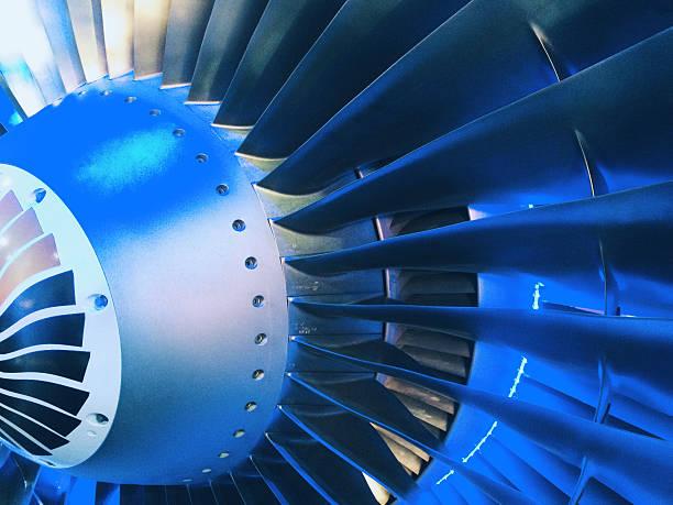 Jet moteur turbine arrivée - Photo