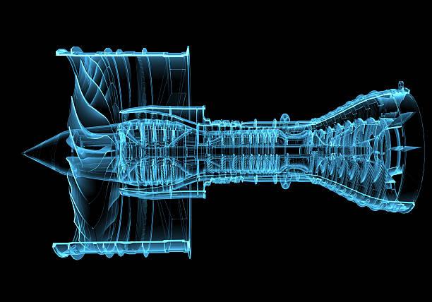 Jet moteur turbine - Photo