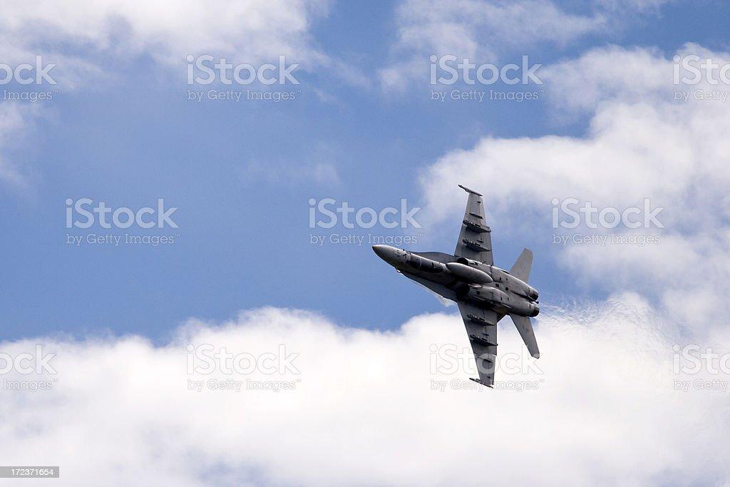 Jet Fighter Plane royalty-free stock photo
