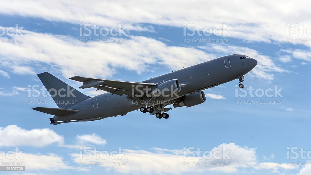 jet in sky 免版稅 stock photo