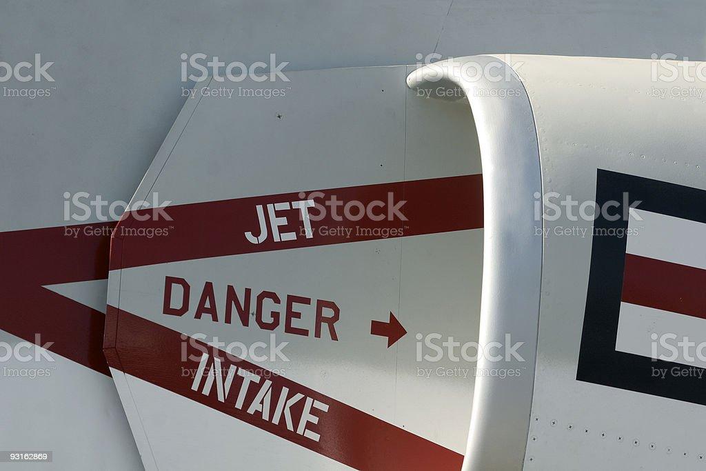 jet intake royalty-free stock photo