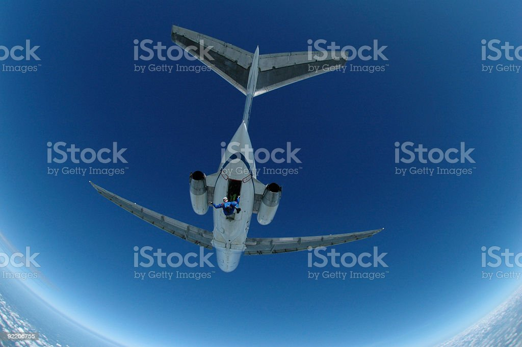 Jet Jumper stock photo