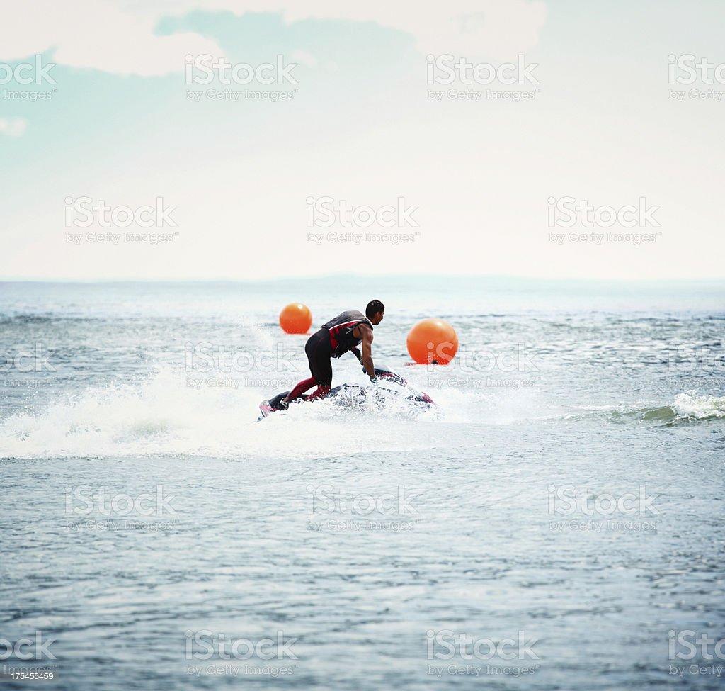 Jet ski. stock photo