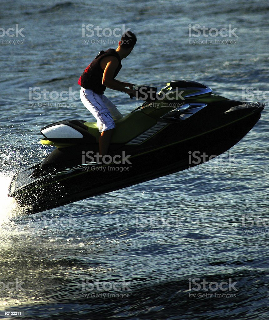 Jet Ski royalty-free stock photo