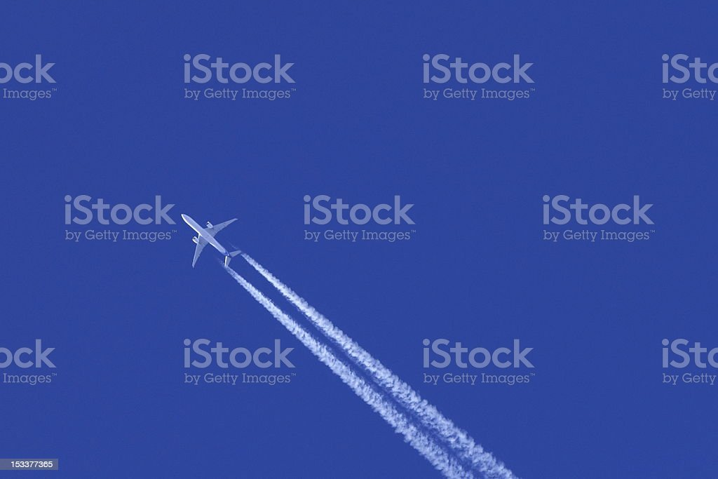 Jet Stream! royalty-free stock photo