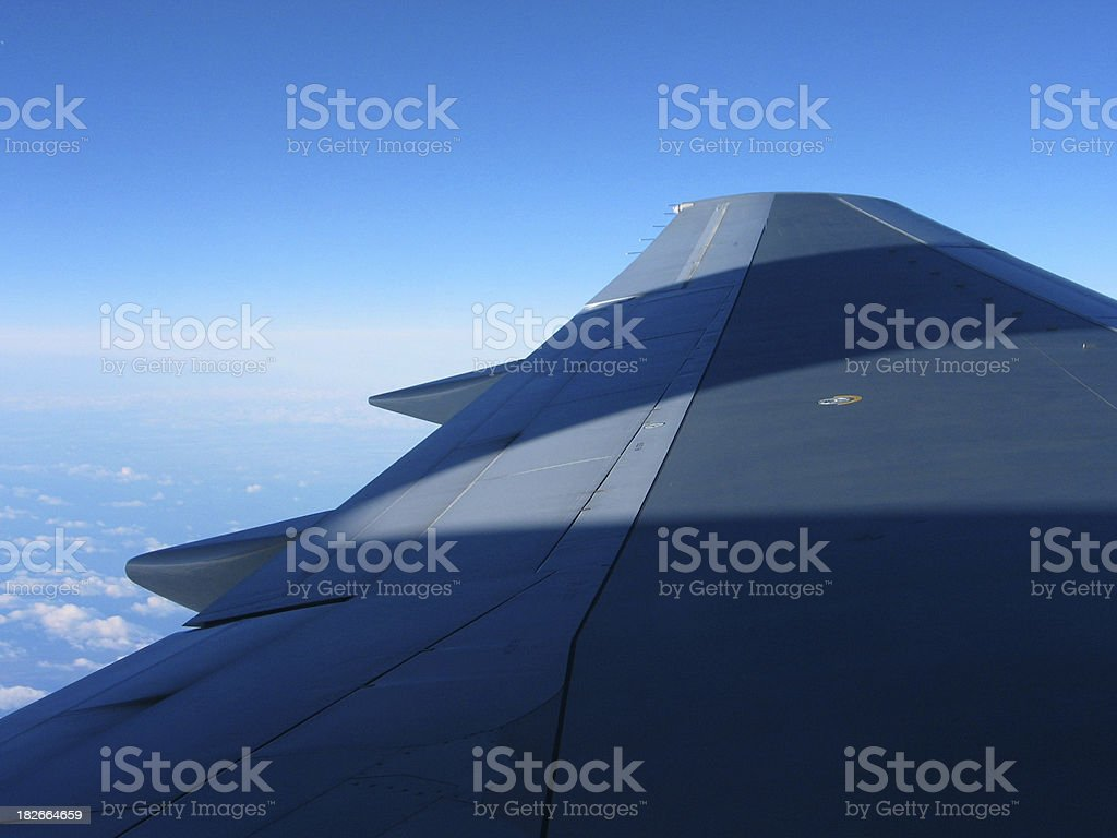 Jet Wing royalty-free stock photo