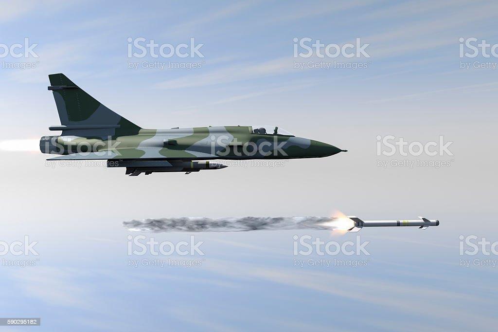 Jetfighter royaltyfri bildbanksbilder