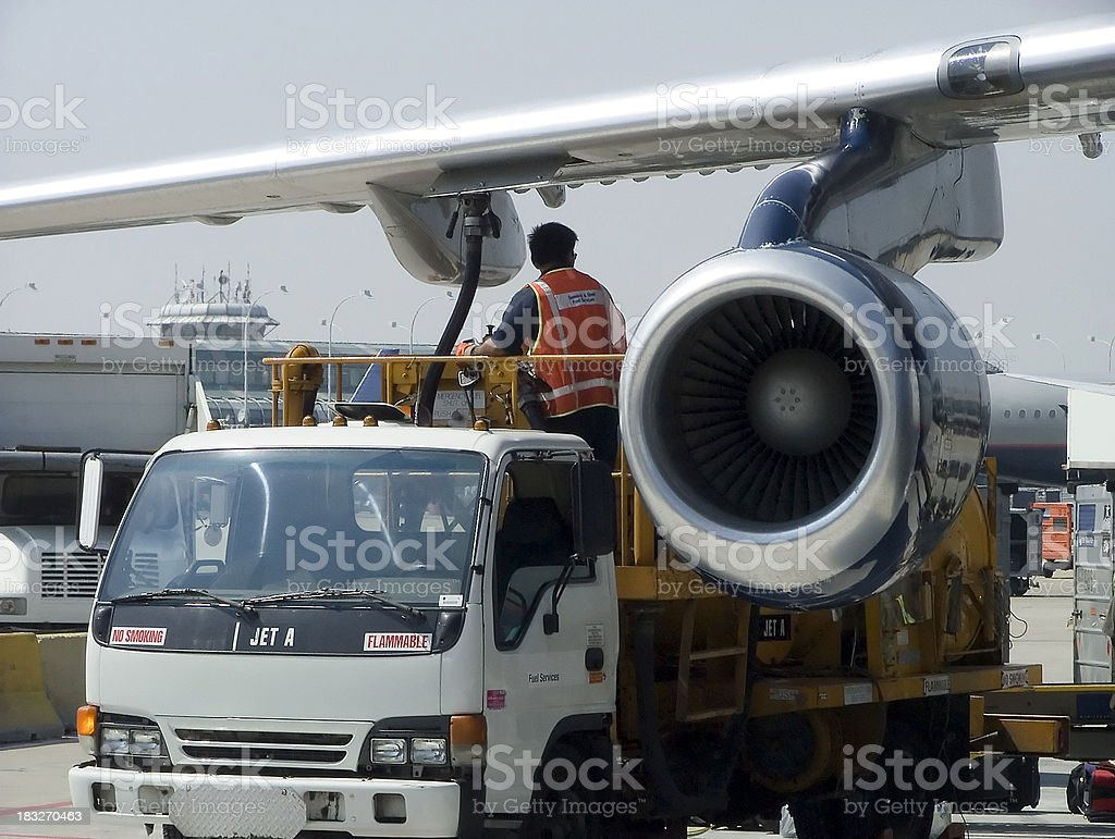 jetfuel royalty-free stock photo