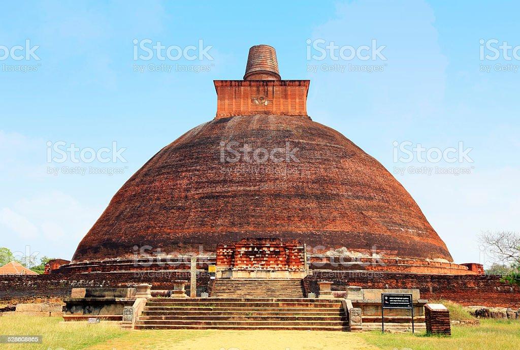 Jethawana Dagoba, Anuradhapura, Sri Lanka - Photo