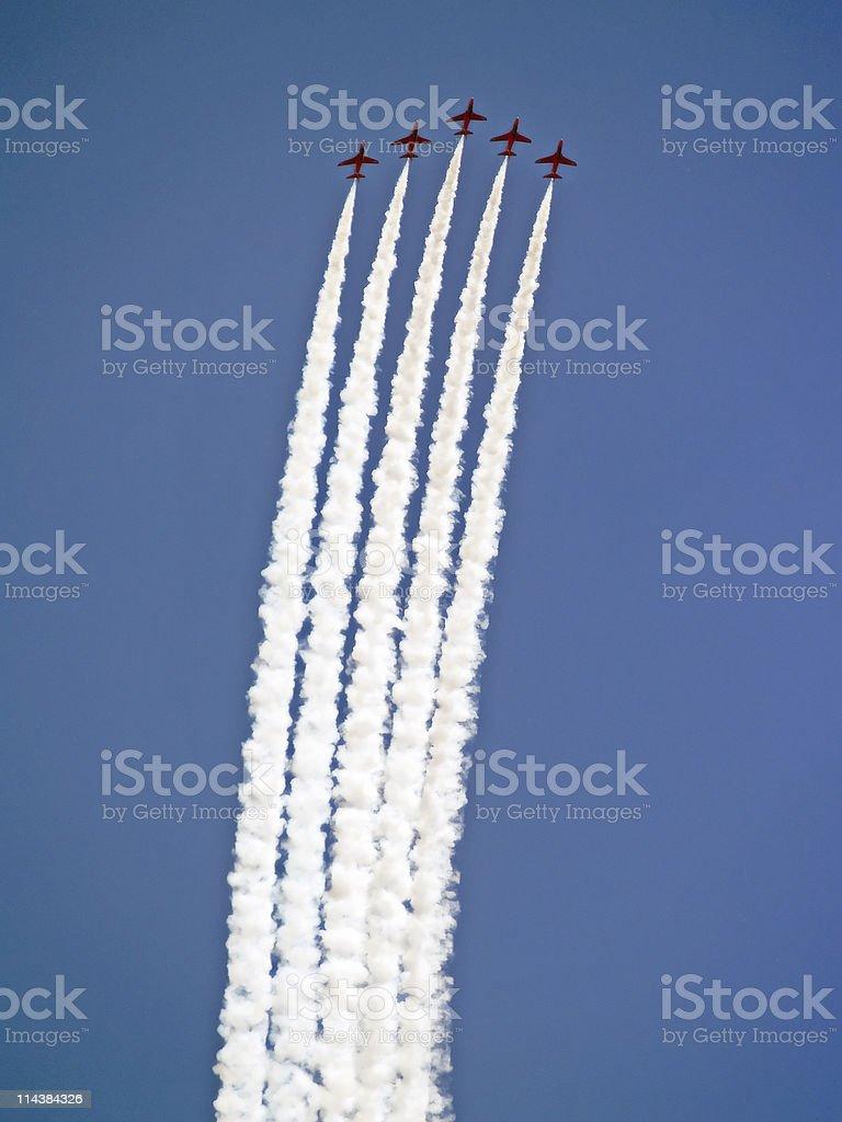 Jets Climb royalty-free stock photo