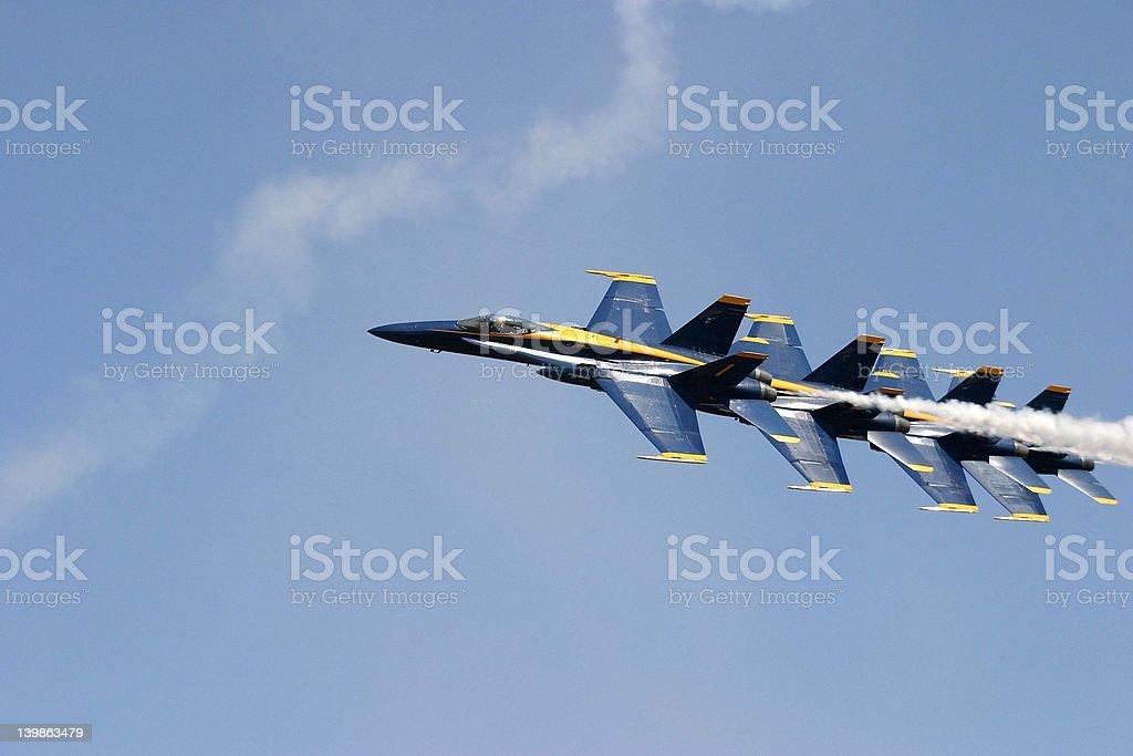 Jets stock photo