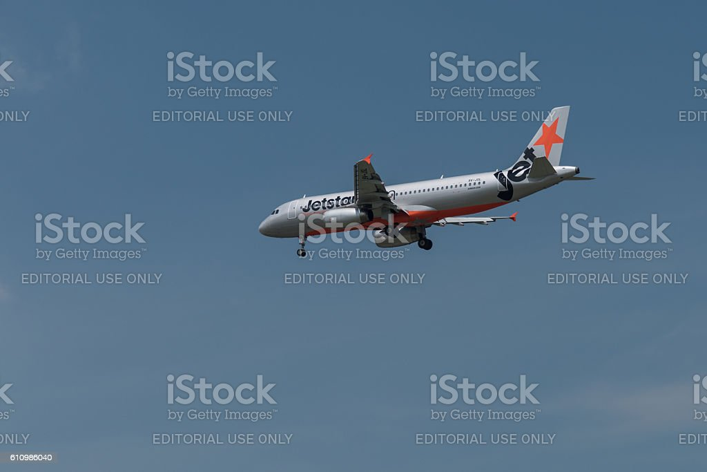 JetStar Airbus A320 stock photo