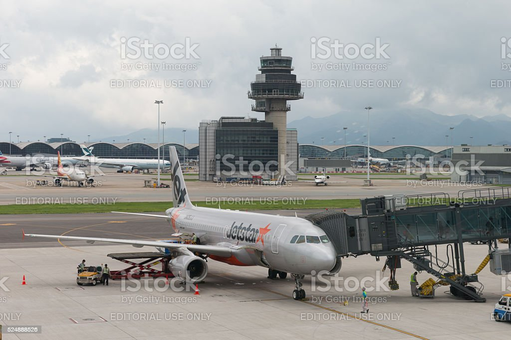 Jetstar Airways Airbus A320 stock photo