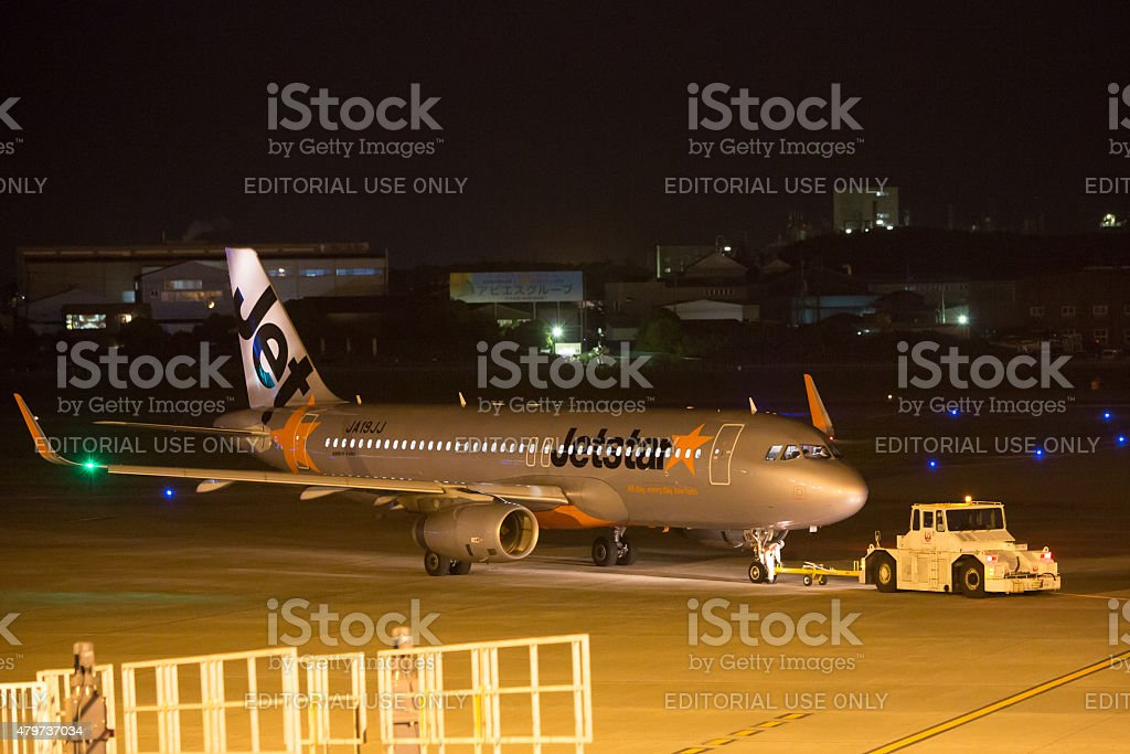 Jetstar Japan Airbus A320 stock photo