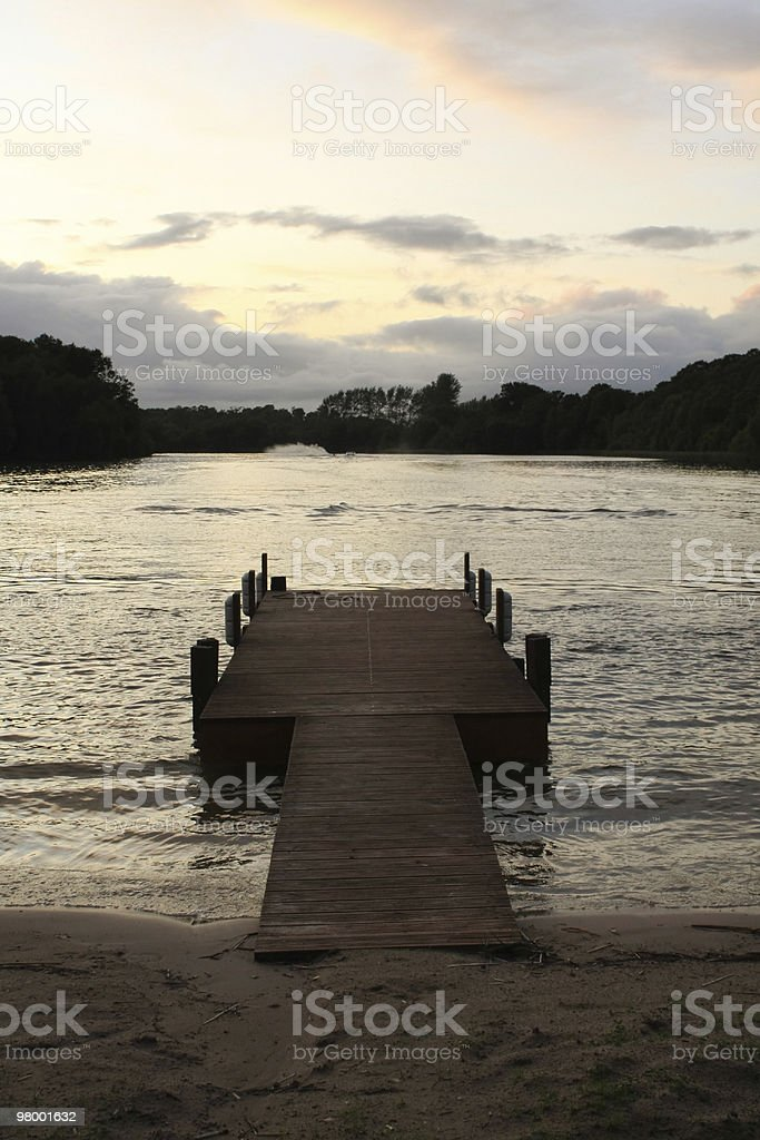 Jetty royalty free stockfoto