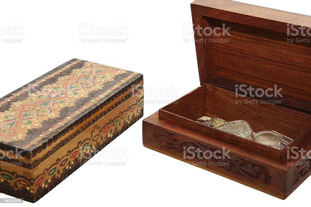 Jewel boxes royalty-free stock photo