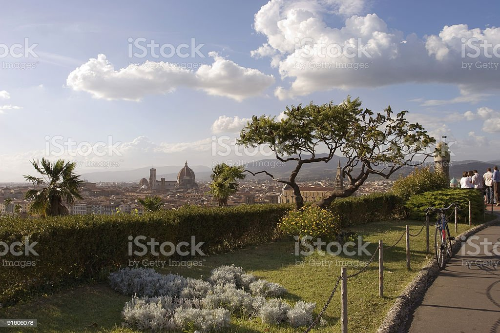 Jewel of Florence royalty-free stock photo