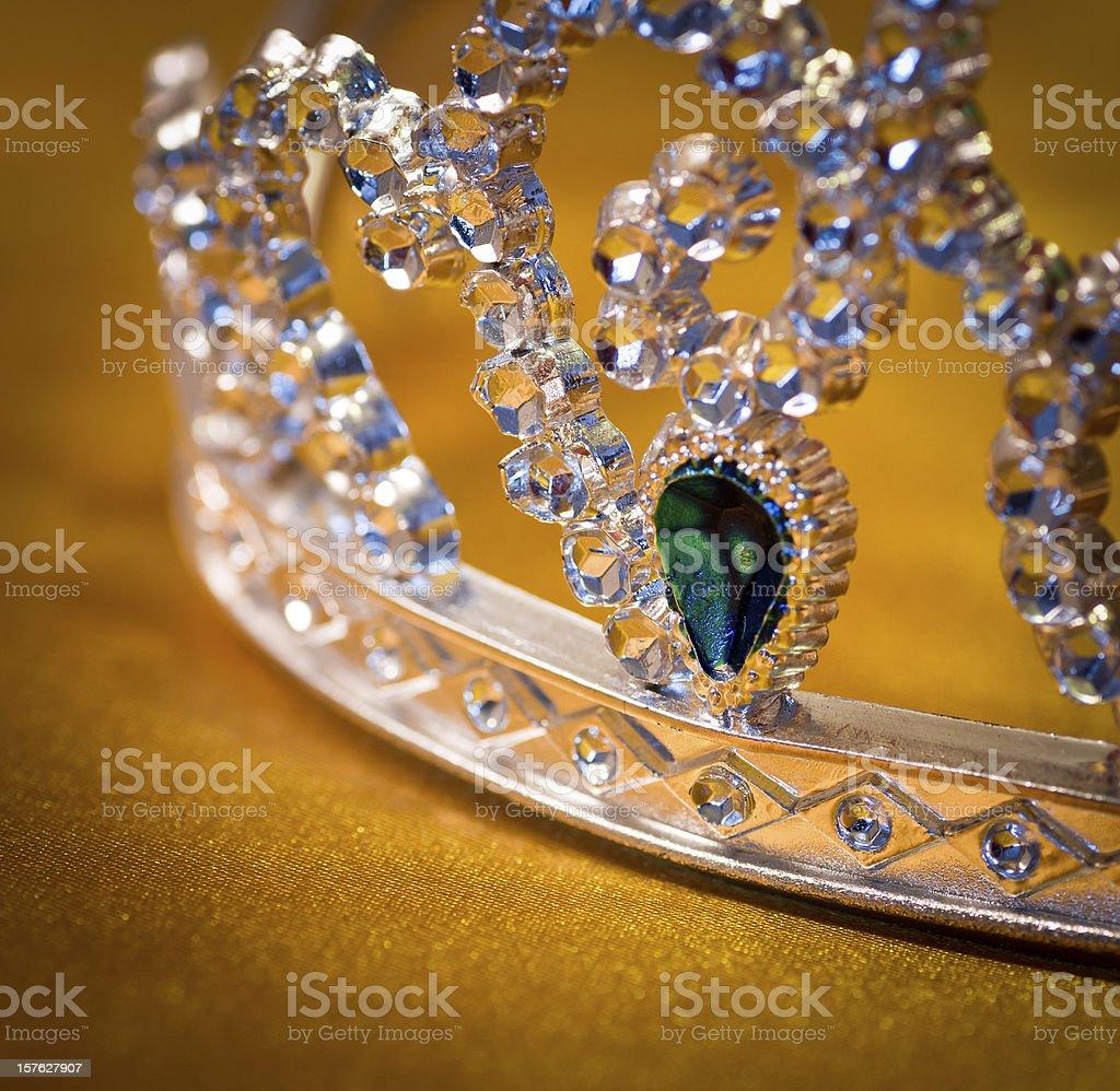 jeweled crown stock photo