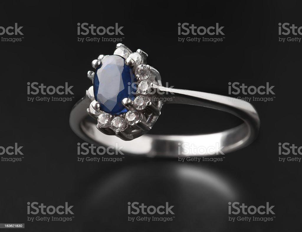 jeweler ring royalty-free stock photo