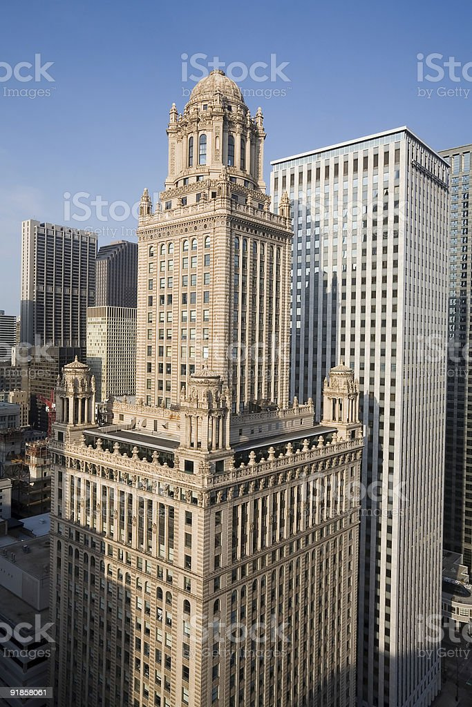 Jewelers Building, Chicago royalty-free stock photo