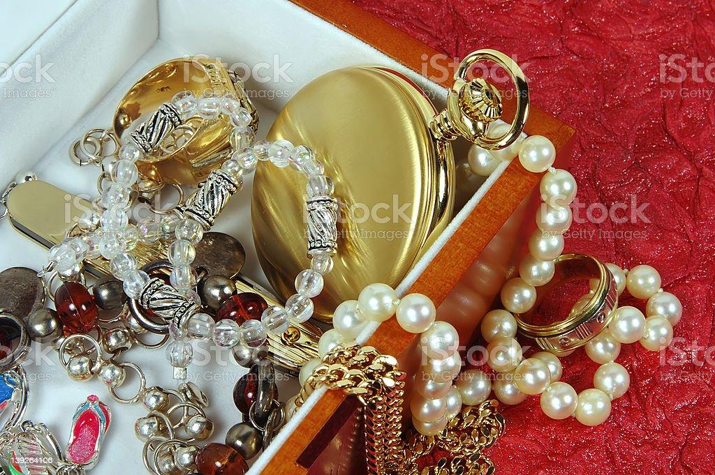 Jewelery Box royalty-free stock photo