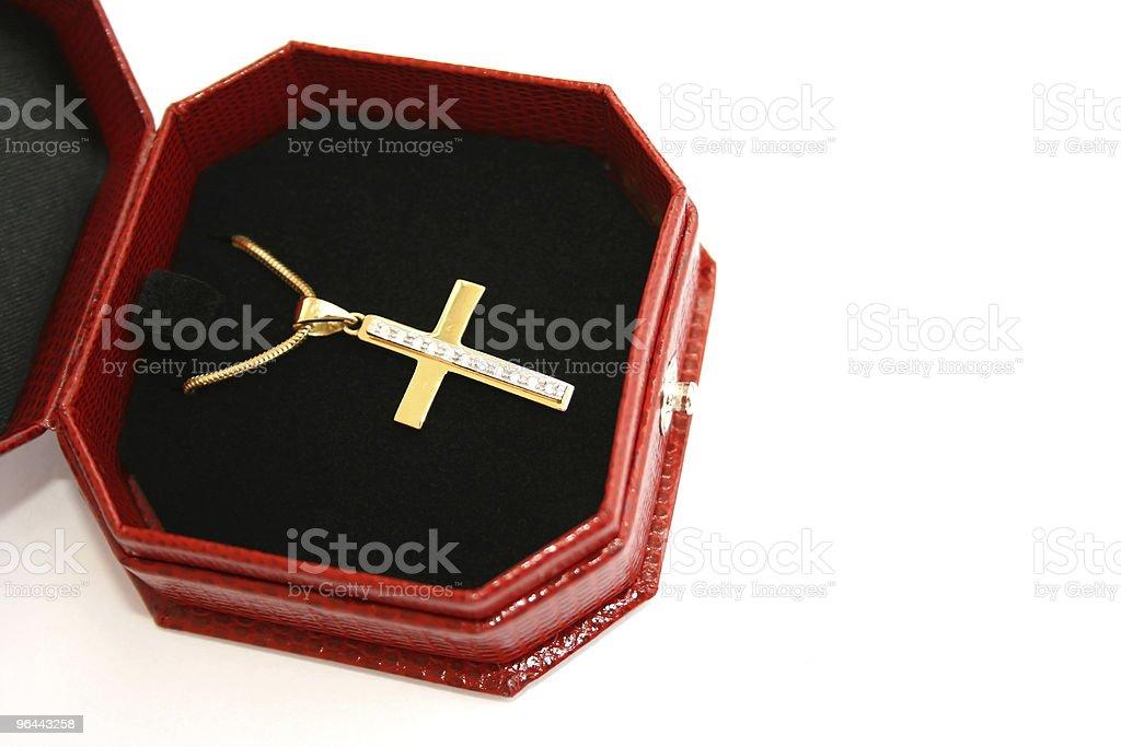 Jewelery box - Royalty-free Boven Stockfoto