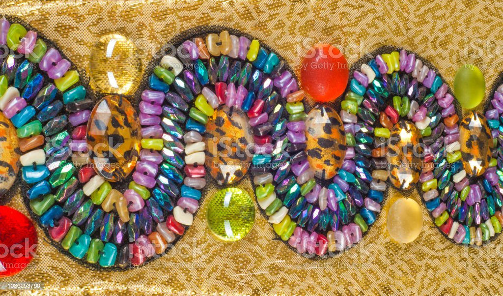 Jewellery Egyptian priestesses stock photo