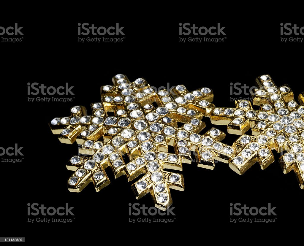 jewellery in black back royalty-free stock photo