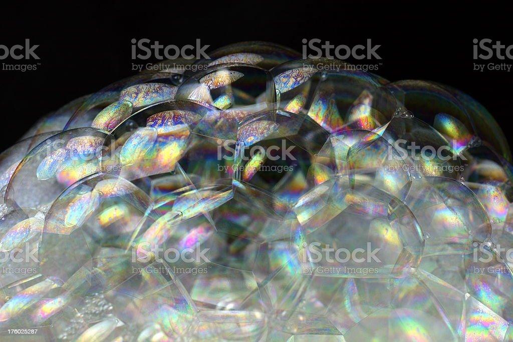 Jewel-Like Bubbles royalty-free stock photo