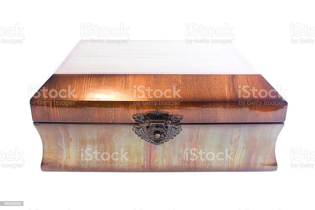 Pudełko na biżuterię - Zbiór zdjęć royalty-free (Aksamit)