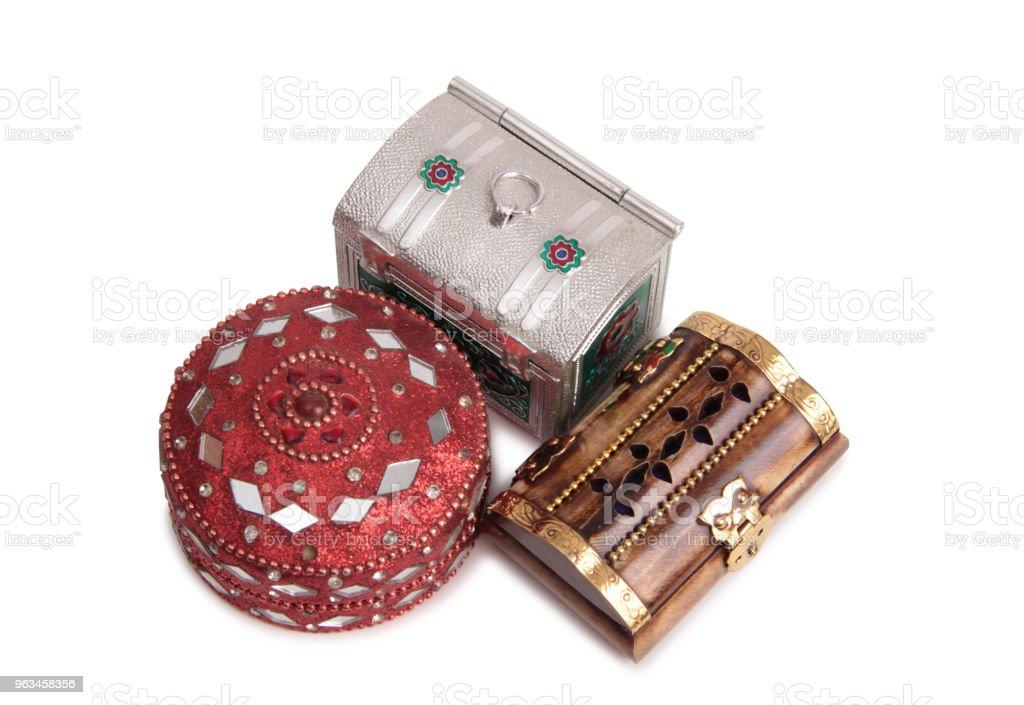 Pudełko na biżuterię - Zbiór zdjęć royalty-free (Akcesorium osobiste)