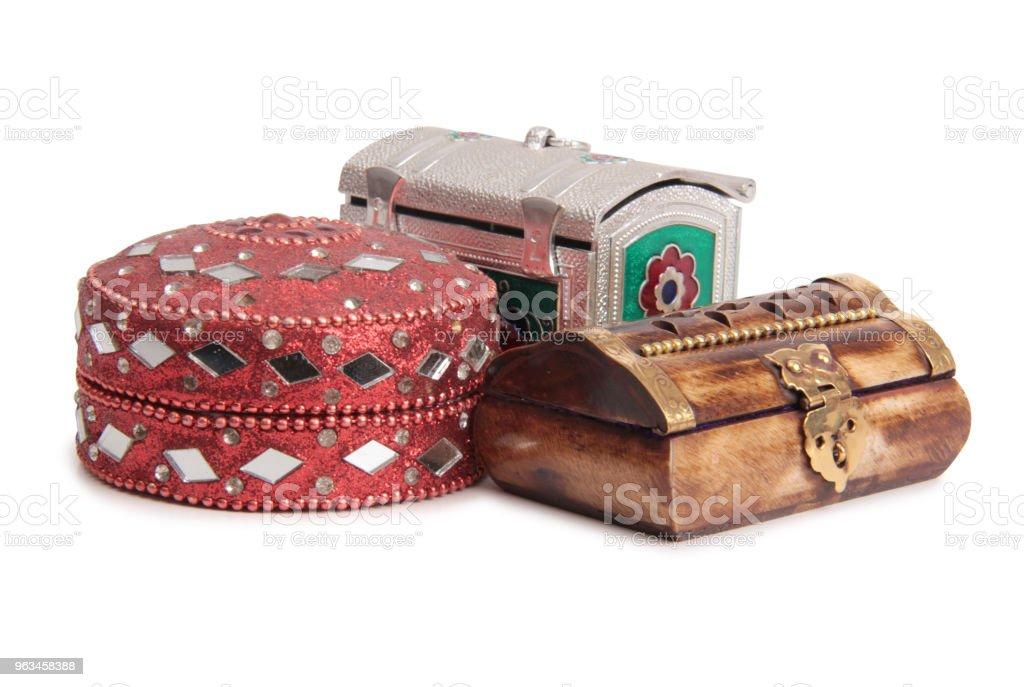 Jewelry box - Zbiór zdjęć royalty-free (Akcesorium osobiste)