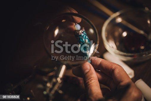 istock Jewelry handmade 981606808