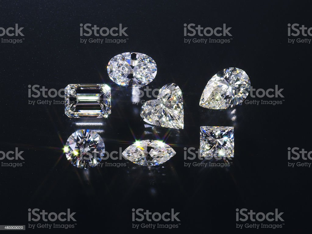 Jewelry image stock photo