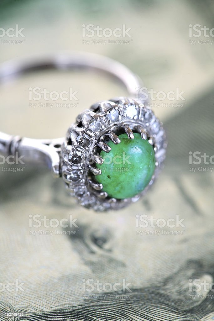 Jewelry importand than money royalty-free stock photo