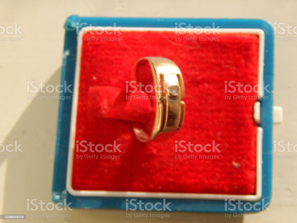 Jewelry, jewelery, rings, chains and bijouterie stock photo