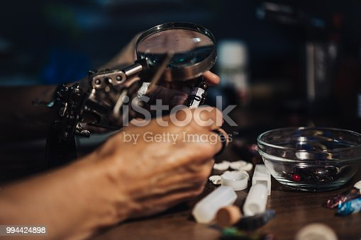 991427116 istock photo Jewelry making in workshop 994424898