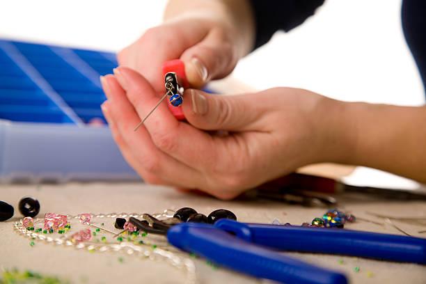 Jewelry Making Tools stock photo