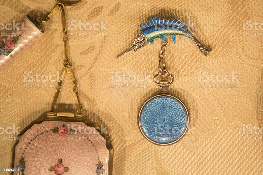 Jewelry on Display stock photo