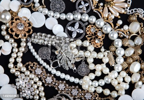 Jewelry. Background