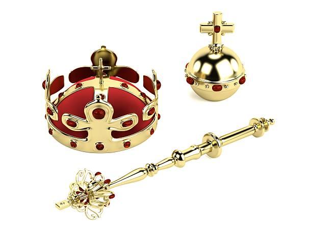 bijoux - sceptre photos et images de collection