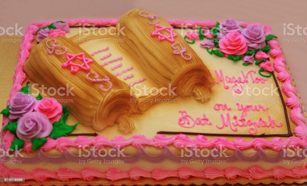Jewish cake ritual clothing royalty-free stock photo