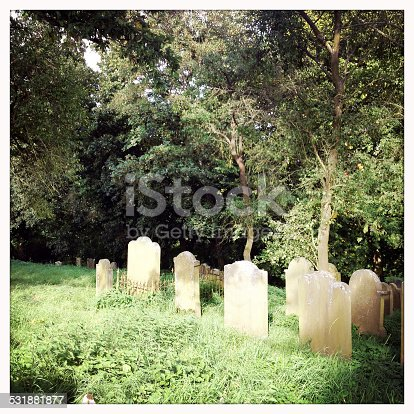 An small old jewish cemetery in the forest of Rauischholzhausen, Germany. The jewish community of Rauischholzhausen was wiped out during the Third Reich, so the cemetery is pre 1930s.