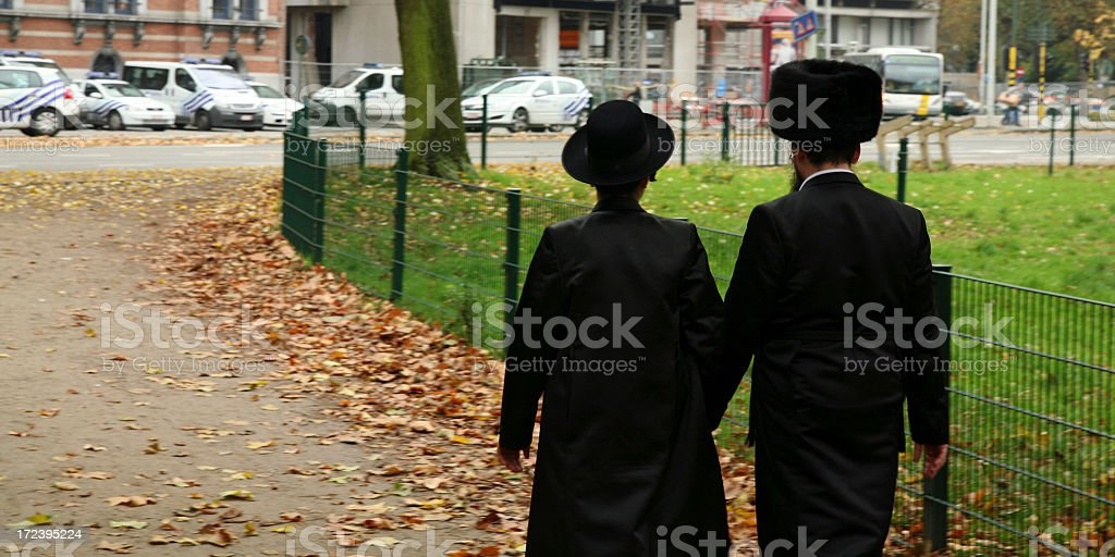 Jewish couple royalty-free stock photo