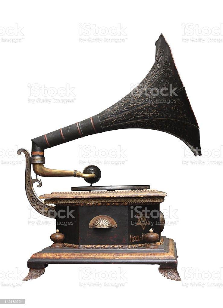 Jewish gramophone stock photo