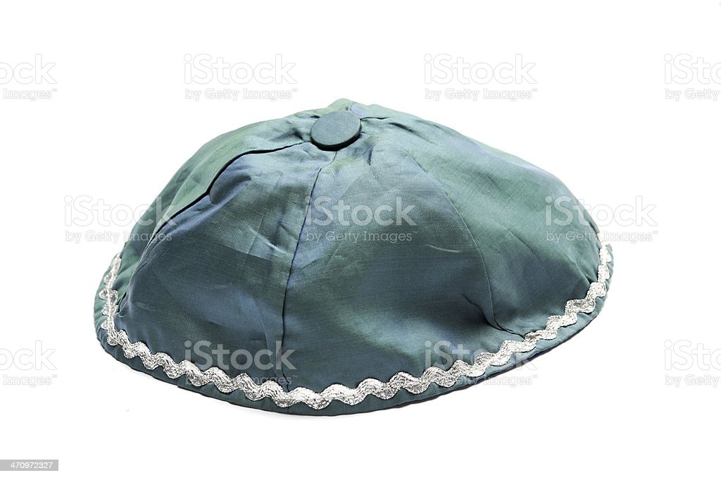 Jewish hat stock photo