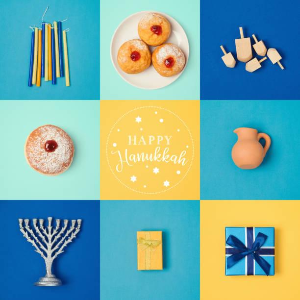 jewish holiday hanukkah banner design - hanukkah stock pictures, royalty-free photos & images