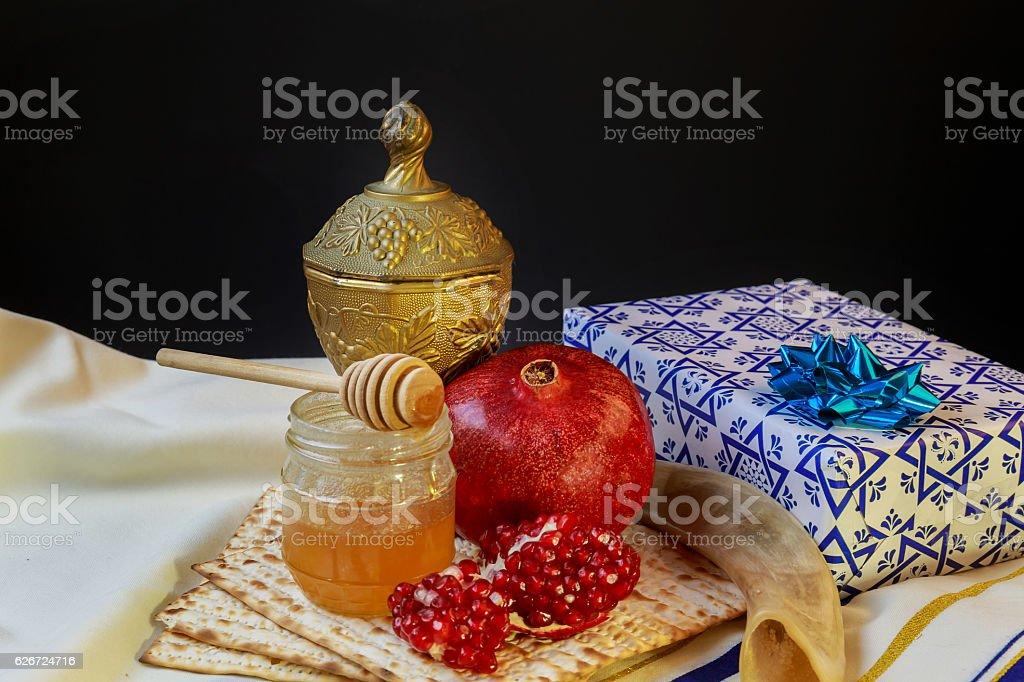 jewish holiday passover  matzoh rosh hashanah stock photo