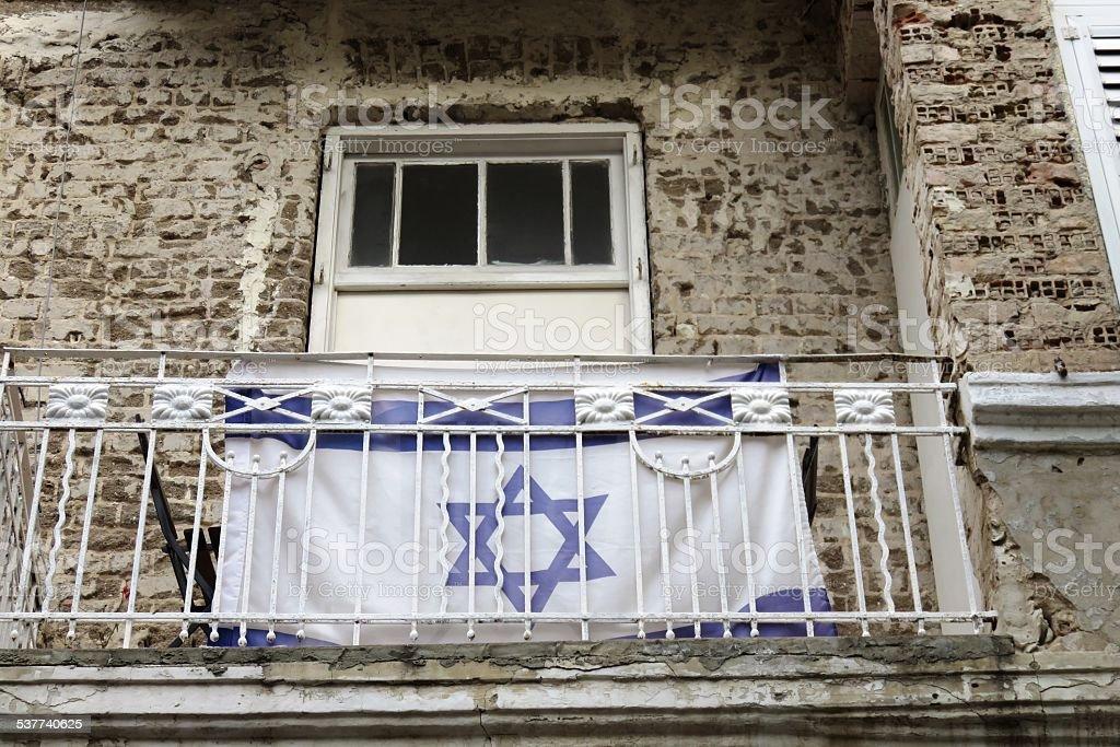 Jewish Home in Hebron stock photo