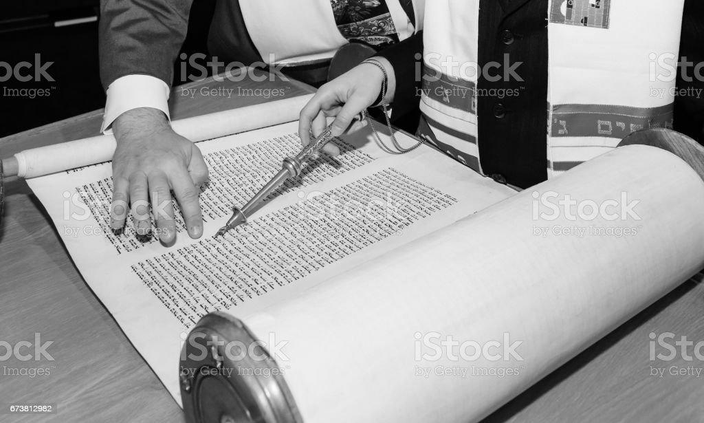 Juif homme habillé en vêtements rituel - Photo